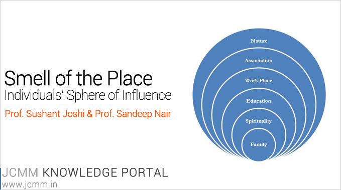 Smell Of The Place – Individuals' Sphere Of Influence