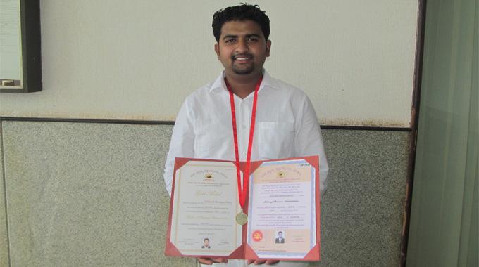Siddharth Choury Gold Medal