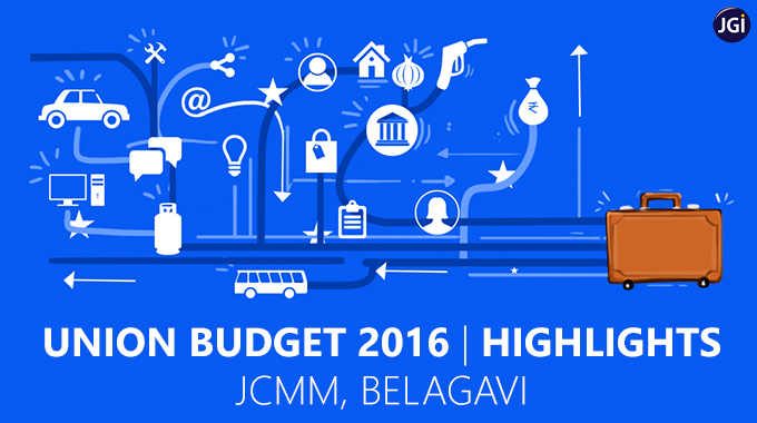 Union Budget 2016 Highlights At JCMM, Belagavi